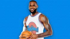 LeBron James vestirá la camiseta de Space Jam.