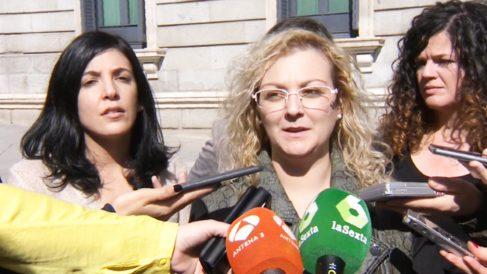 María Sevilla, presidenta de 'Infancia Libre'.