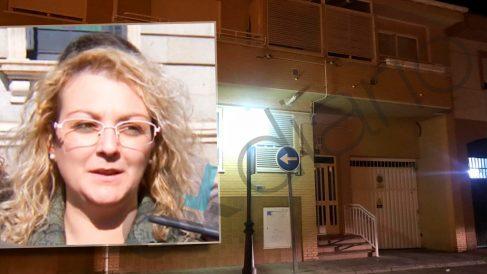 Vivienda familiar de la asesora de Podemos detenida por secuestrar a sus hijos.