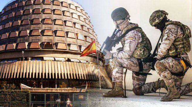 El Constitucional se pronunciará por primera vez sobre la vulneración de derechos de los militares