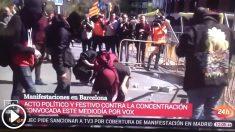 """TVE llama """"acto político y festivo"""" los ataques de los CDR contra VOX"""