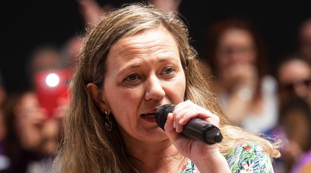 Victoria Rosell, delegada del Gobierno para la Violencia de Género.