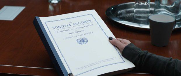 Acuerdos de Sokovia, en 'Civil War'