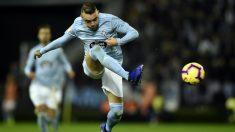 Iago Aspas, en un partido de esta temporada. (AFP)
