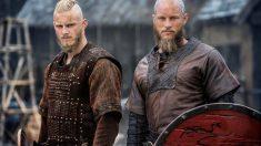 Björn y Ragnar en 'Vikings'
