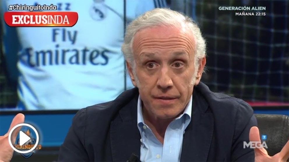 Eduardo Inda facilitó algunos de los nombres que abandonarán el Real Madrid este verano.