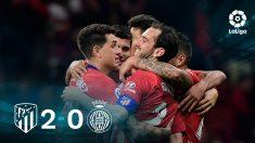 El Atlético se impuso al Girona en el Wanda.