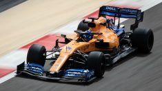 Fernando Alonso, en su regreso a la Fórmula 1.  (Getty)