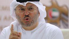El ministro de Estado para Asuntos Exteriores de los Emiratos Árabes Unidos, Anwar Gargash. Foto. Getty.