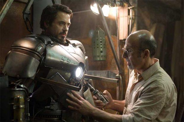 Iron Man con Robert Downey Jr
