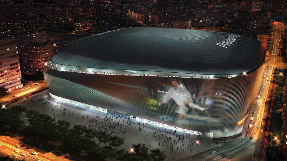 El nuevo Bernabéu se convertirá en un icono de la ciudad de Madrid.