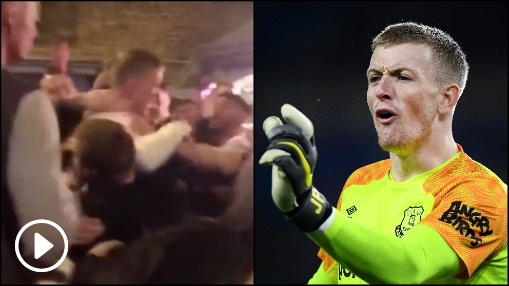 pickford-everton-pelea