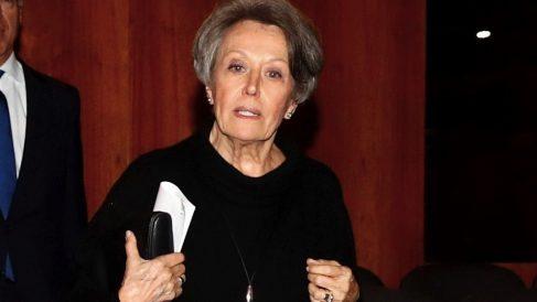 Rosa María Mateo, administradora única de RTVE. (Foto. EFE)