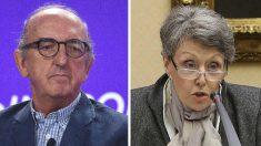 El millonario Jaume Roures y la administradora única de RTVE, Rosa María Mateo