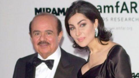 Adnan Khashoggi y Shahpari Zanganeh.