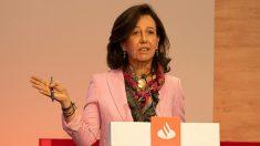 El Banco Santander de Ana Botín será el demandado en los procedimientos civiles