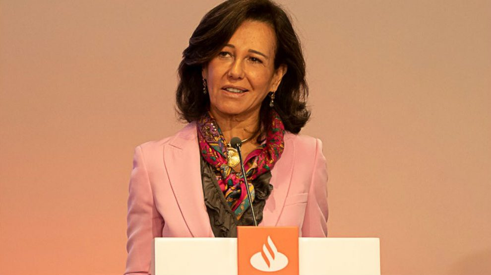 Ana Botín en el Investors Day del Banco Santander