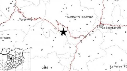 Terremoto en Lérida. Foto. EP