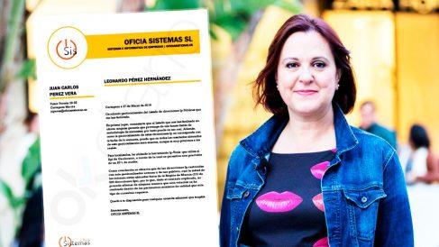 Isabel Franco, ganadora de las primarias de Cs en Murcia y el informe de la empresa especializada en voto telemático. (Foto: C's / OKDIARIO)