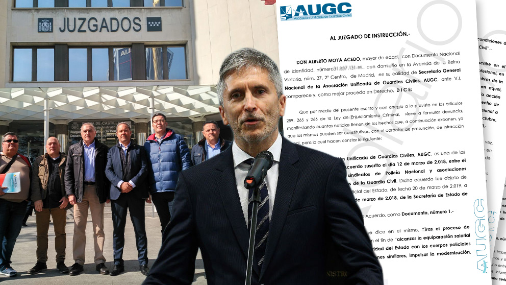 La Guardia Civil ha denunciado este miércoles al Gobierno de Pedro Sánchez por irregularidades en el proceso de equiparación salarial.