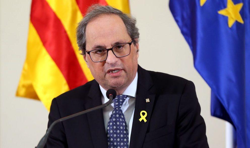 El presidente de la Generalitat, Quim Torra (Foto: Getty).