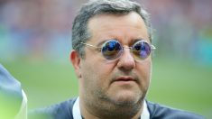 Mino Raiola, agente de Paul Pogba. (Getty)