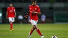 Joao Félix, durante un encuentro con el Benfica esta temporada. (Getty)