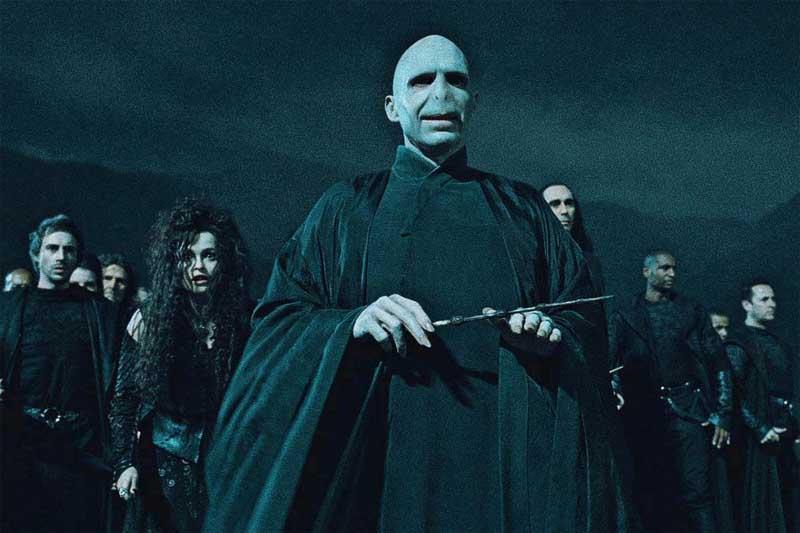 Harry Potter y el truco de la varita de Voldemort