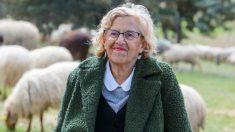 Manuela Carmena, alcaldesa de Madrid y candidata de Más Madrid al Ayuntamiento. Foto. EP
