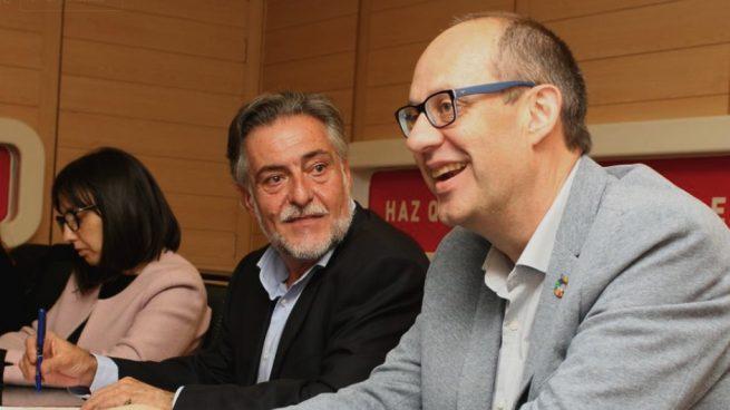 Pepu Hernández y Ramón Silva. (Foto. PSOE)