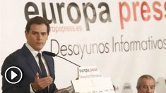 Albert Rivera. Foto: Europa Press