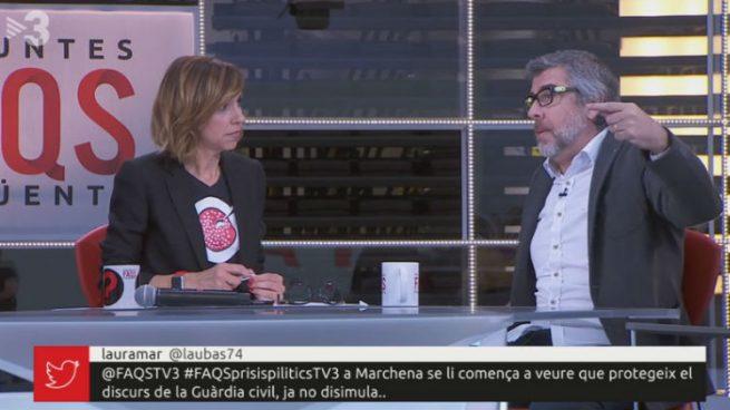 La productora de Buenafuente que realiza 'La resistencia' también monta el show independentista FAQS en TV3