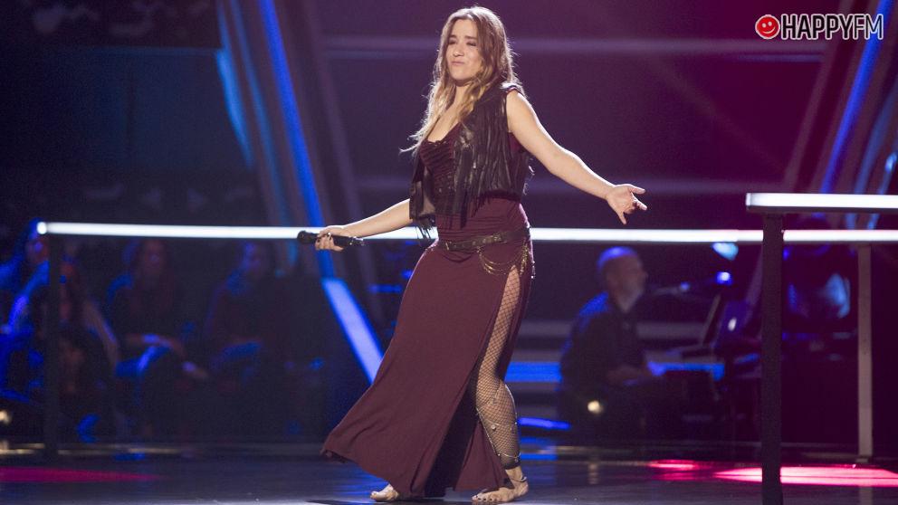 Viki Lafuente, una gran apuesta en la semifinal de 'La Voz'