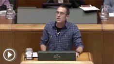 """El diputado de EH Bildu en el Parlamento Vasco, Julen Arzuaga, llama """"nazis de Nuremberg"""" a la Policía y Guardia Civil"""