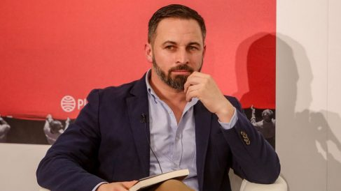 Santiago Abascal. Foto: Europa Press
