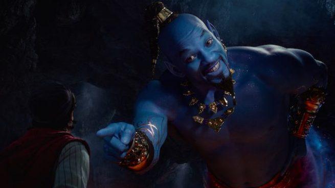 La adaptación en acción real del clásico de Disney 'Aladdin' corona la taquilla