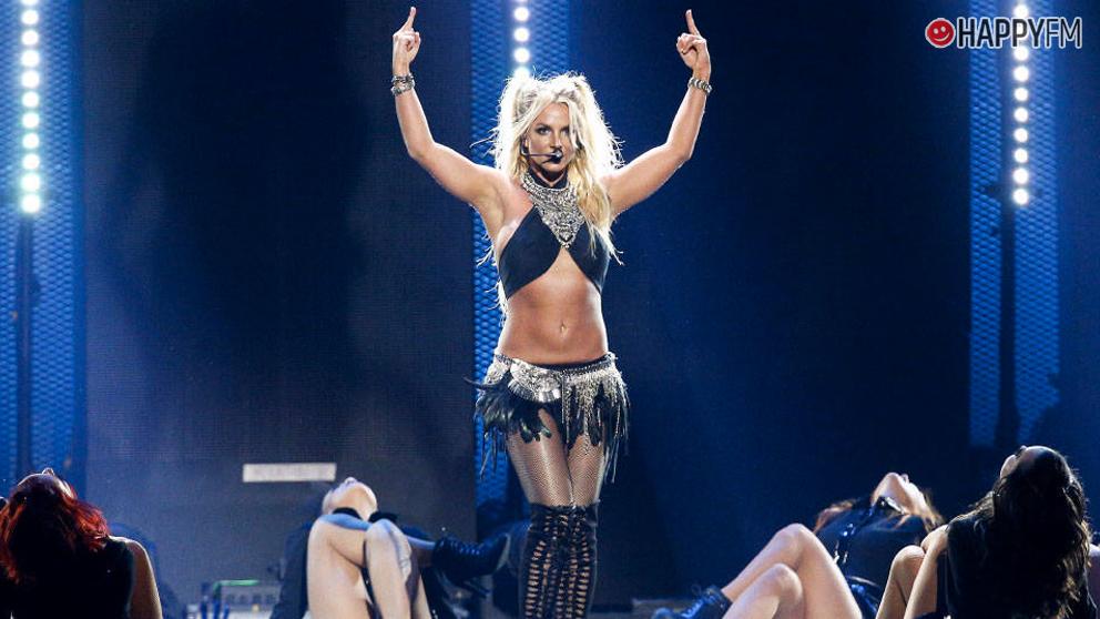 Britney Spears en pleno show