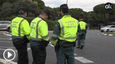 Control de alcoholemia y velocidad reducido de tráfico.