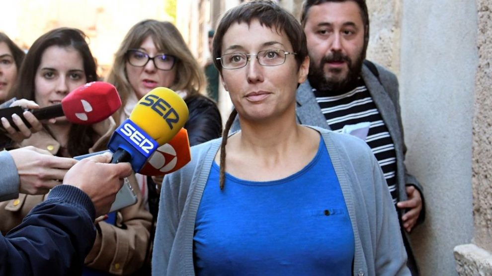 Datxu Peris, concejal electa por Podemos. Foto. EFE