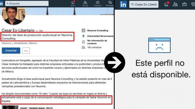 Evolución del perfil del jefe de Neurona Consulting en Madrid.