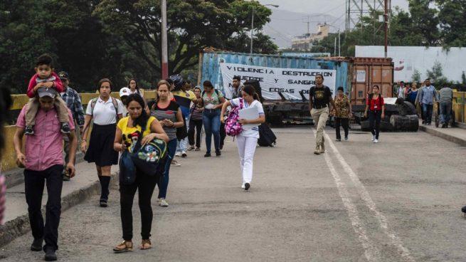 Más de cuatro millones de venezolanos han abandonado su país por la dictadura de Maduro según la ONU