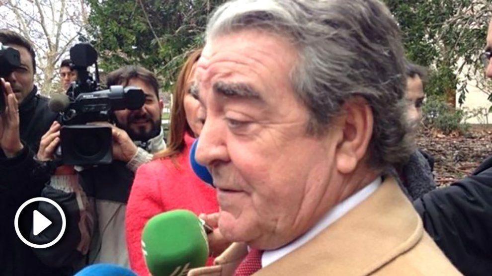 José María Corbín, cuñado de Rita Barberá. Foto. EFE