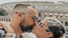 Laura Escanes y Risto Mejide en Roma