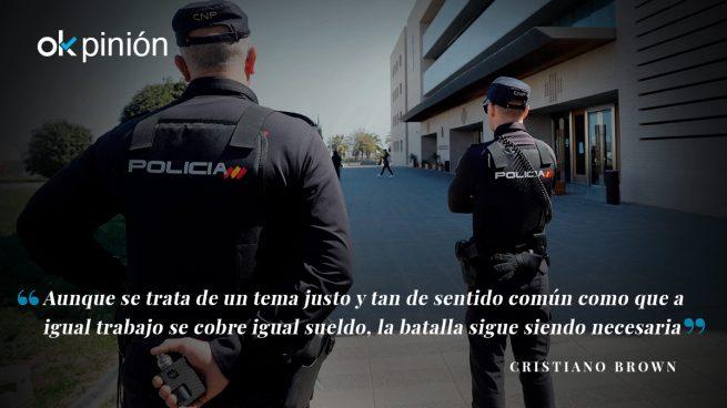 ¿La batalla final por la equiparación salarial de los cuerpos policiales?