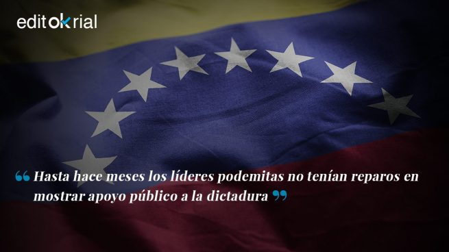 ¿Quién decía que Podemos no tiene nada que ver con Maduro y Chávez?
