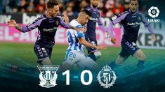El Leganés gana al Valladolid. (EFE)