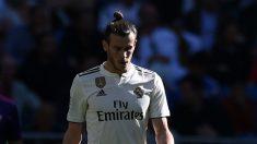 Gareth Bale tiene un pie fuera del Madrid. (Getty)