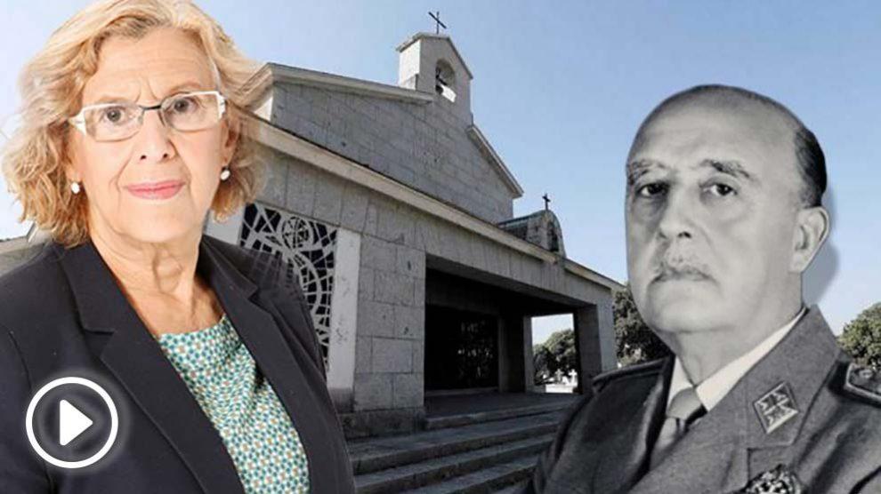 Manuela Carmena, Francisco Franco y el cementerio de Mingorrubio – El Pardo.