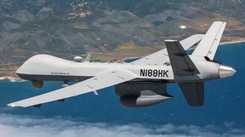 Un dron 'Predator B' como los que va a recibir el Ejército del Aire español este verano.