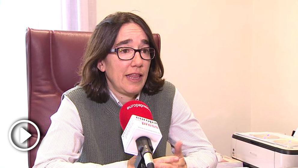 Olatz Alberdi, abogada de Ángel Hernández. Foto. EP-min-655×368